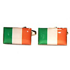more details on Irish Flag Cufflinks.