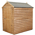 Mercia Garden Wooden Overlap Apex Shed No Windows 6 x 4ft