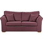 more details on Lily Fabric Metal Action Sofa Bed - Mulberry.
