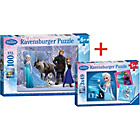more details on Ravensburger Disney Frozen - Puzzle 100pc & Puzzle 3x49pc