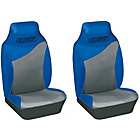 more details on Cosmos Aquasport Water Resistant Front Seat Covers - Blue.