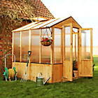 more details on BillyOh Premium Complete Wooden Greenhouse 3 x 6.
