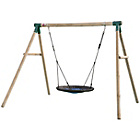 more details on Plum Spider Monkey II Wooden Garden Swing Set.