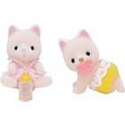 more details on Sylvanian Families Silk Cat Twins.