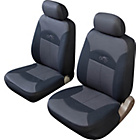 more details on Cosmos Celsius Front Pair Seat Covers - Black and Grey.