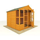 more details on BillyOh Tongue and Groove Wooden Summerhouse 7 x 7.