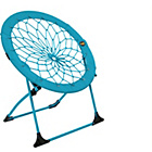 more details on Bunjo Fabric Bungee Chair - Blue.