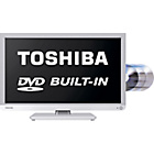 more details on Toshiba 22D1334B 22 inch Full HD LED TV/DVD Combi - White.
