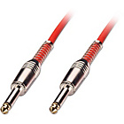 more details on LINDY 10m ¼inch Straight-Straight Jack Guitar Cable-Red.