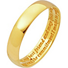 more details on 9ct Gold Diamond Set Commitment Ring - 4mm.
