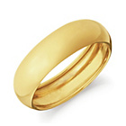 more details on 18ct Gold Rolled Edge Wedding Ring.