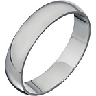 more details on Palladium Heavyweight D-Shape Wedding Ring.
