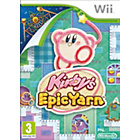 more details on Kirby's Epic Yarn Wii Game.