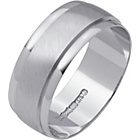 more details on 9ct White Gold Satin Finish Wedding Ring.