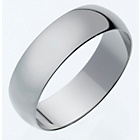 more details on 9ct White Gold Heavyweight Forever Yours Wedding Ring - 6mm.