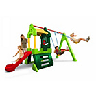 more details on Little Tikes Clubhouse Swing Set Natural.