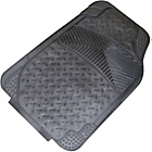 more details on Cosmos Express Extra All Weather Car Mat Set - Black.