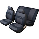 more details on Cosmos Celsius Full Set Car Seat Covers - Black and Grey.