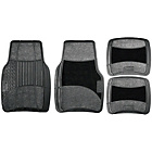 more details on Michelin Rubber and Carpet Set of 4 Car Mat Set - Black.