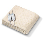 more details on Monogram Komfort Fitted Dual Control Heated Blanket - S.King