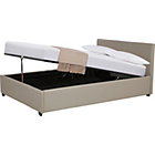 more details on Hygena Ophelia Kingsize Ottoman Bed Frame - Latte.