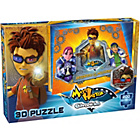 more details on Matt Hatter Chronicle 200 Piece 3D Puzzle Heroes vs Villains