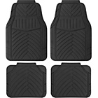 more details on Cosmos Duro All Weather 4 Piece Car Mat Set - Black.