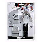 more details on Piranha 4 Piece Oscillating Tiling Tool Accessory Set.