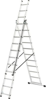 Buy Abru 3 Way Combination Ladder 3 40m Max Swh At Argos