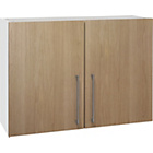 more details on Hygena Valencia 1000mm Kitchen Wall Unit - Oak.