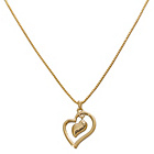 more details on Guess Gold Coloured Metal Adjustable Heart Necklace.