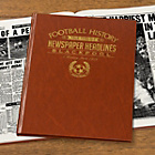 more details on Signature Gifts Blackpool FC Brown Newspaper Book.