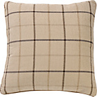 more details on Heart of House Brodie Check Cushion - Oatmeal.