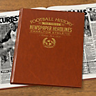 more details on Signature Gifts Charlton FC Brown Newspaper Book.