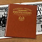 more details on Signature Gifts Middlesbrough FC Brown Newspaper Book.