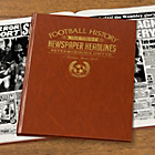 more details on Signature Gifts Peterborough FC Brown Newspaper Book