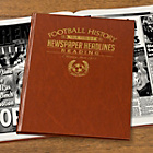 more details on Signature Gifts Reading FC Brown Leatherette Newspaper Book.