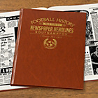 more details on Signature Gifts Southampton FC Brown Newspaper Book.