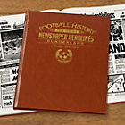 more details on Signature Gifts Sunderland FC Brown Newspaper Book.