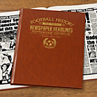 more details on Signature Gifts Tottenham Hotspur FC Brown Newspaper Book.