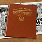 more details on Signature Gifts Wolverhampton FC Brown Newspaper Book