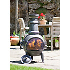 more details on La Hacienda Medium Steel Chiminea with Cooking Grill.