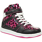 more details on Barratts Girls' Pink Hi Top Lace Up Sneakers.