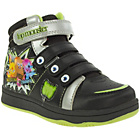 more details on Moshi Monsters Boys' Black Hi Top Velcro Trainers.