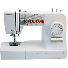 more details on Toyota Super Jeans 15 Sewing Machine - White.