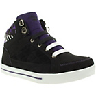 more details on Mercury Girls' Black High Top Lace Up Trainers.