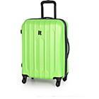 more details on IT Luggage Medium 4 Wheel Expander Trolley Case - Lime.