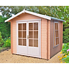 more details on Homewood Barnsdale Wooden Cabin - 8 x 8ft.