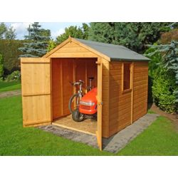 Homewood Double Door 8 x 6ft Apex Wooden Shed