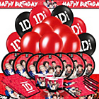 more details on One Direction Ultimate Party Kit for 16.